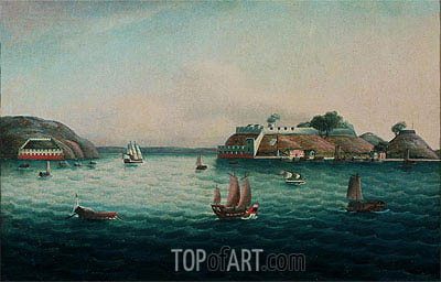 Tiger's Mouth, undated | Cantonese School | Painting Reproduction
