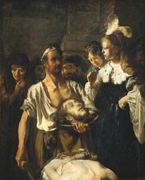 The Beheading of Saint John the Baptist, c.1640 von Carel Fabritius | Gemälde-Reproduktion