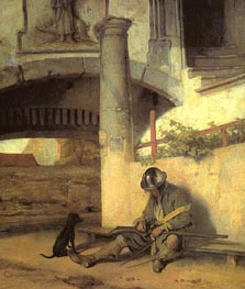 The Sentry, 1654 von Carel Fabritius | Gemälde-Reproduktion
