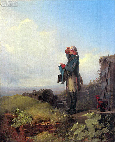 Peace in the Land, 1846 | Carl Spitzweg | Painting Reproduction