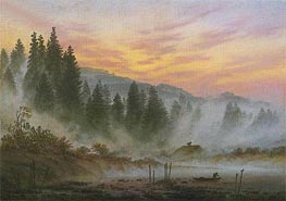 Morning | Caspar David Friedrich | Painting Reproduction