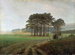Midday | Caspar David Friedrich | Painting Reproduction