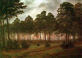 Evening | Caspar David Friedrich | Painting Reproduction