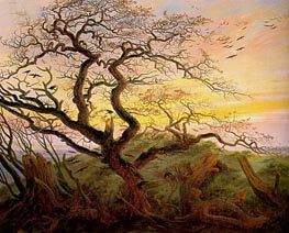 The Tree of Crows, c.1822 von Caspar David Friedrich | Gemälde-Reproduktion
