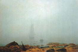 Mist | Caspar David Friedrich | Painting Reproduction