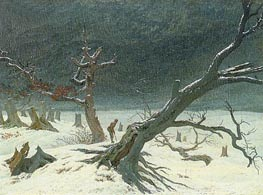 Winter Landscape | Caspar David Friedrich | Gemälde Reproduktion