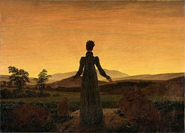 Woman before the Setting Sun, c.1818 by Caspar David Friedrich   Painting Reproduction