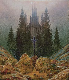 The Cross in the Mountains, 1812 by Caspar David Friedrich   Painting Reproduction