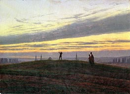 The Evening Star | Caspar David Friedrich | Painting Reproduction