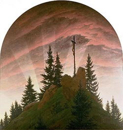The Cross in the Mountains | Caspar David Friedrich | Painting Reproduction