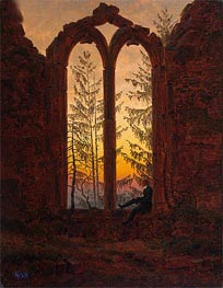 Dreamer, c.1835 by Caspar David Friedrich | Painting Reproduction