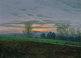 Ploughed Field, c.1830 by Caspar David Friedrich | Painting Reproduction