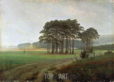 Midday, c.1820/25 | Caspar David Friedrich | Painting Reproduction