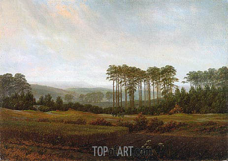 Afternoon, 1822 | Caspar David Friedrich | Painting Reproduction