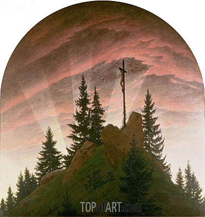 The Cross in the Mountains, 1808 | Caspar David Friedrich | Painting Reproduction