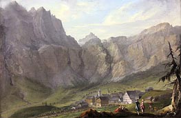 Leuekerbad | Caspar Wolf | Painting Reproduction