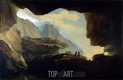 The Crystal Cave, 1778 | Caspar Wolf | Painting Reproduction