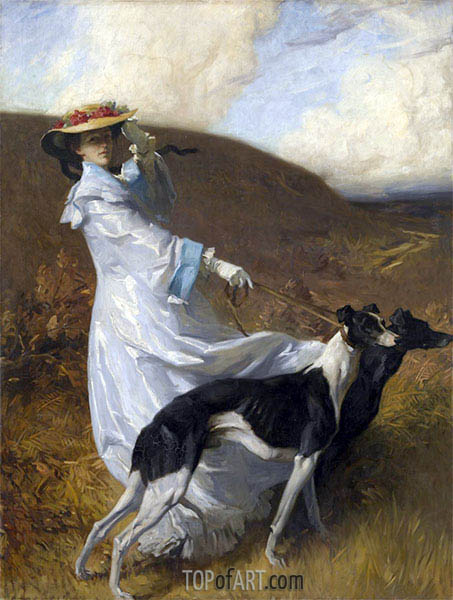 Diana of the Uplands, c.1903/04 | Charles Wellington Furse | Painting Reproduction