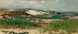 Nantucket Sand Dune, c.1890 by Charles Morgan McIlhenney | Painting Reproduction