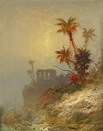 Egyptian Landscape, Undated by Charles Morgan McIlhenney | Painting Reproduction