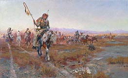 The Medicine Man | Charles Marion Russell | Painting Reproduction