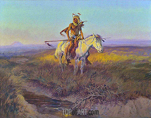 The Scout, 1915 | Charles Marion Russell | Painting Reproduction