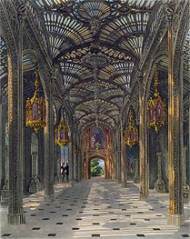 The Conservatory at Carlton House from Pyne's Royal Residences, 1819 von Charles Wild | Gemälde-Reproduktion