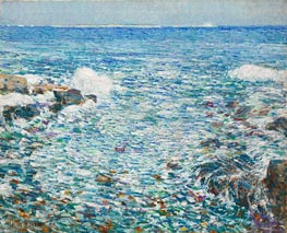 Surf, Isles of Shoals | Hassam | Painting Reproduction