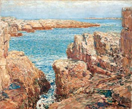 Coast Scene, Isles of Shoals | Hassam | Gemälde Reproduktion