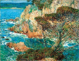 Point Lobos, Carmel | Hassam | Gemälde Reproduktion