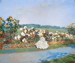 Summertime, 1891 by Hassam | Painting Reproduction