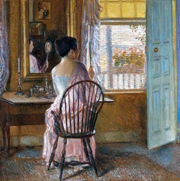 Morning Light, 1914 by Hassam | Painting Reproduction