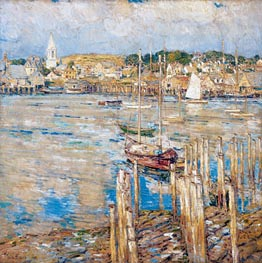 Gloucester, 1899 by Hassam | Painting Reproduction
