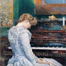 The Sonata | Hassam | Painting Reproduction