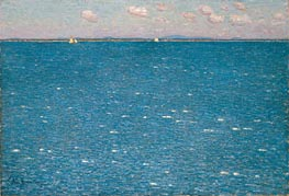 The West Wind, Isles of Shoals, 1904 von Hassam | Gemälde-Reproduktion