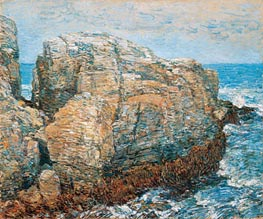 Sylph's Rock, Appledore | Hassam | Painting Reproduction