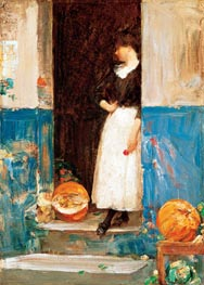 La Fruitiere | Hassam | Painting Reproduction