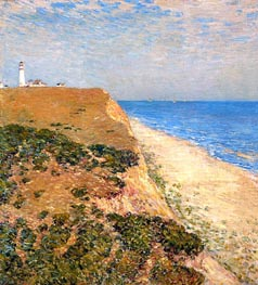 Highland Light, 1900 by Hassam | Painting Reproduction