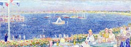 Afternoon, Devon Yacht Club | Hassam | Painting Reproduction