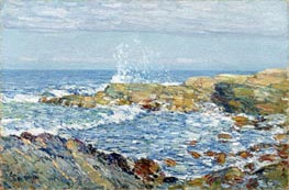 Isle of Shoals, 1906 by Hassam | Painting Reproduction