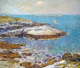Isles of Shoals, 1899 by Hassam | Painting Reproduction