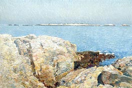 Duck Island, 1906 by Hassam | Painting Reproduction