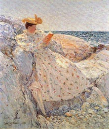 Isles of Shoals (Summer Sunlight) | Hassam | Painting Reproduction