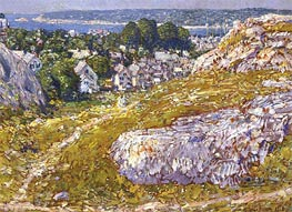 Norman's Woe, Gloucester, Massachusetts | Hassam | Painting Reproduction