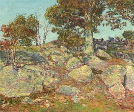September, 1906 von Hassam | Gemälde-Reproduktion