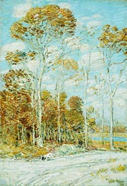 The Hawk's Nest | Hassam | Painting Reproduction