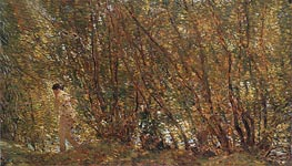 Under the Alders | Hassam | Painting Reproduction