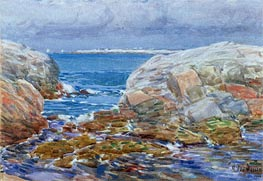 Duck Island, Isles of Shoals | Hassam | Painting Reproduction