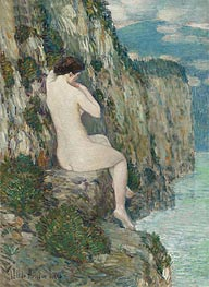 Nude: Isle of Shoals | Hassam | Painting Reproduction
