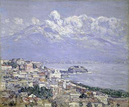 Vesuvius | Hassam | Painting Reproduction
